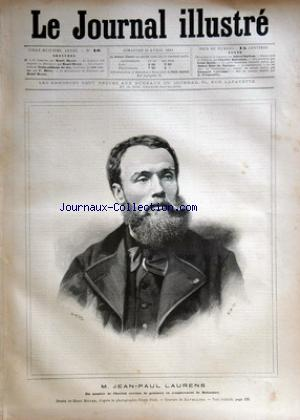 JOURNAL ILLUSTRE (LE) no:16 19/04/1891