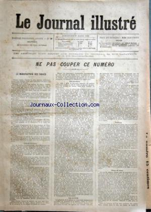 JOURNAL ILLUSTRE (LE) no:11 15/03/1896