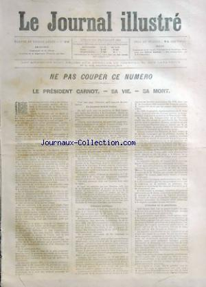JOURNAL ILLUSTRE (LE) no:26 24/06/1894