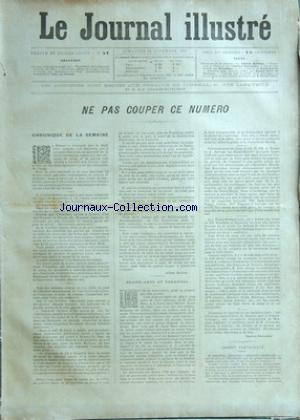 JOURNAL ILLUSTRE (LE) no:47 25/11/1894