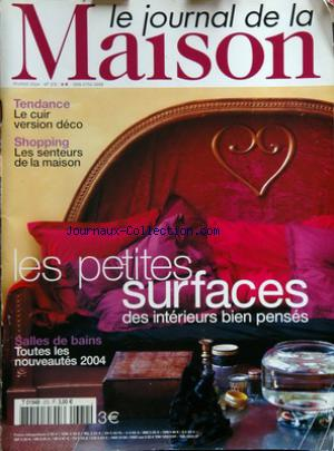JOURNAL DE LA MAISON (LE) no:372 01/02/2004
