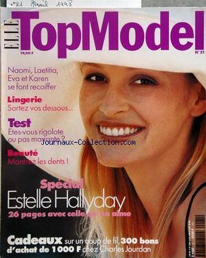 ELLE TOP MODEL no:21 01/04/1998