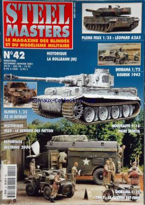 STEEL MASTERS no:42 31/12/2001