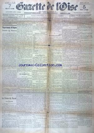 GAZETTE DE L'OISE no:42 13/06/1908