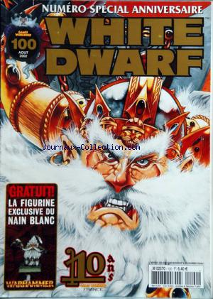 GAMES WORKSHOP no:100 01/08/2002