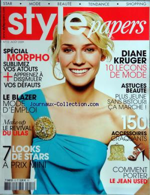 STYLE PAPERS no:12 01/08/2009
