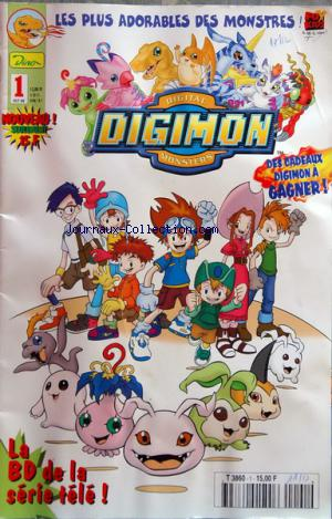 DIGIMON no:1 01/10/2000