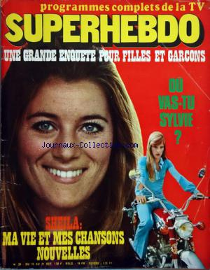 SUPERHEBDO no:28 15/10/1970