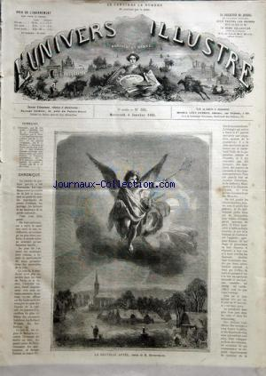 UNIVERS ILLUSTRE (L') no:395 04/01/1865