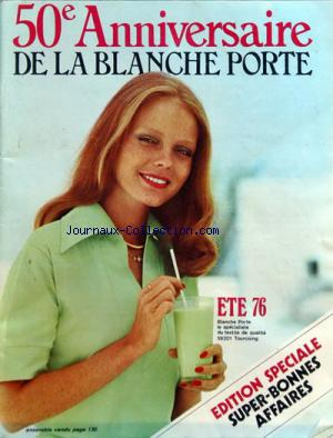 CATALOGUE BLANCHE PORTE (LA) no: 01/07/1976