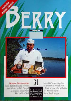 BERRY MAGAZINE no:31 01/09/1994