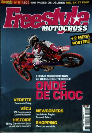 FREESTYLE MOTOCROSS no:16 01/12/2005