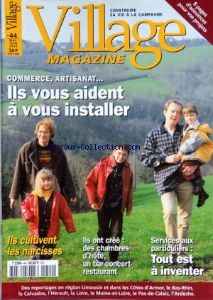 VILLAGE MAGAZINE no:44 01/05/2000