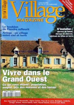 VILLAGE MAGAZINE no:46 01/09/2000