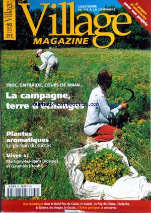 VILLAGE MAGAZINE no:50 01/05/2001