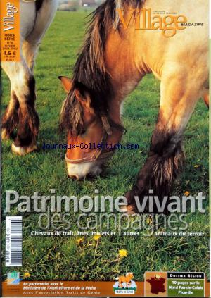 VILLAGE MAGAZINE no:6 01/12/2001