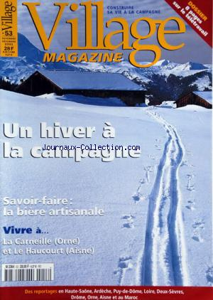 VILLAGE MAGAZINE no:53 01/11/2001