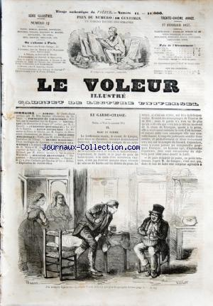 VOLEUR ILLUSTRE (LE) no:17 27/02/1857