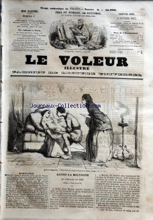 VOLEUR ILLUSTRE (LE) no:9 02/01/1857