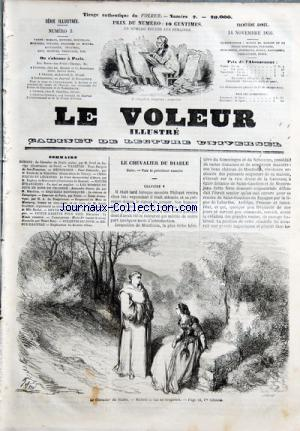 VOLEUR ILLUSTRE (LE) no:2 14/11/1856