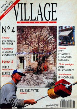 VILLAGE MAGAZINE no:4 01/09/1993