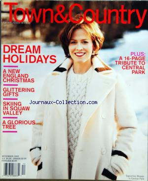 TOWN AND COUNTRY no: 01/12/2003