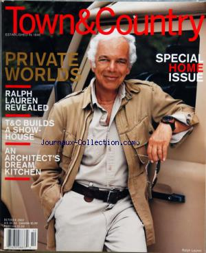 TOWN AND COUNTRY no: 01/10/2002