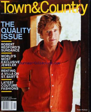 TOWN AND COUNTRY no: 01/11/2002