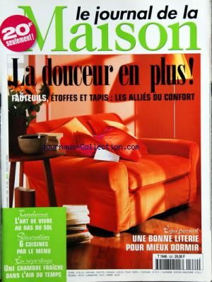 JOURNAL DE LA MAISON (LE) no:332 01/11/1999