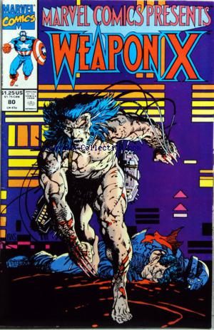 MARVEL COMICS WEAPON X no:80