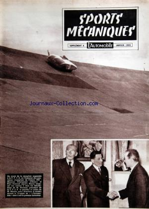 SPORTS MECANIQUES L'AUTOMOBILE no: 01/01/1955