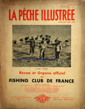 PECHE ILLUSTREE (LA) no:201 01/01/1938