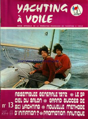 YACHTING A VOILE no:13 01/01/1972
