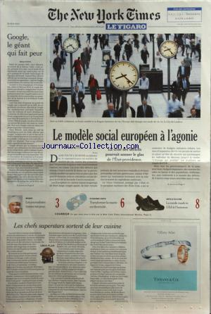 FIGARO NEW YORK TIMES (LE) no: 28/05/2010