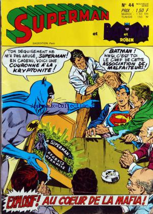 SUPERMAN ET BATMAN ET ROBIN no:44