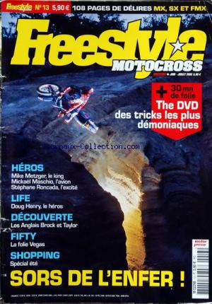 FREESTYLE MOTOCROSS no:13 01/06/2005