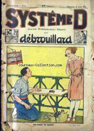 SYSTEME D no:9 17/08/1924