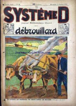SYSTEME D no:16 05/10/1924
