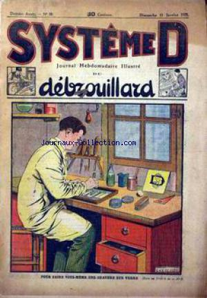 SYSTEME D no:30 11/01/1925
