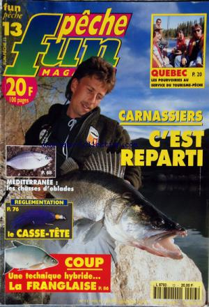 PECHE FUN MAGAZINE no:13 01/05/1996