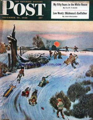SATURDAY EVENING POST (THE) no: 18/12/1948