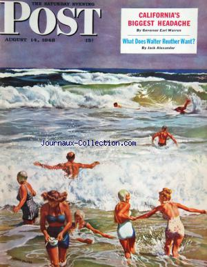 SATURDAY EVENING POST (THE) no: 14/08/1948