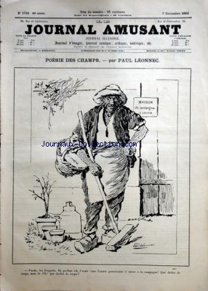 JOURNAL AMUSANT (LE) no:1736 07/12/1889