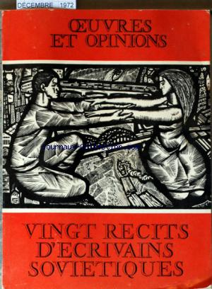 OEUVRES ET OPINIONS no:176 01/12/1972
