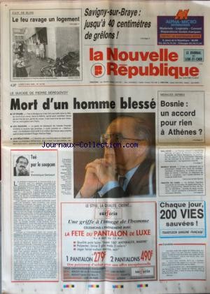 NOUVELLE REPUBLIQUE (LA) no:17763 03/05/1993