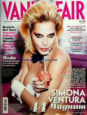 VANITY FAIR ITALIE no:14 08/04/2009