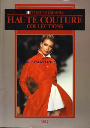 HAUTE COUTURE COLLECTION no: 01/03/1992