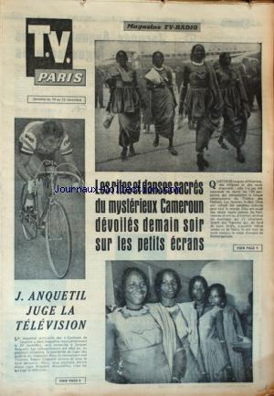 TV PARIS no: 16/11/1963