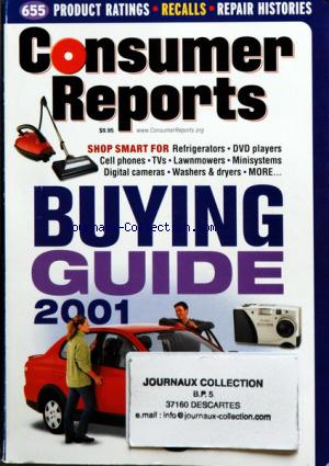 CONSUMER REPORTS BUYING GUIDE no:
