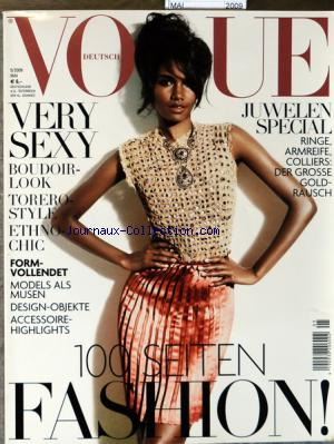 VOGUE DEUTSCH no: 01/05/2009